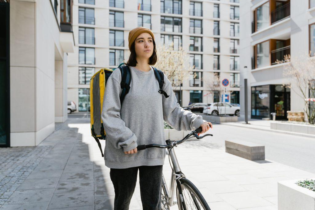 lady-on-a-bike-thinking
